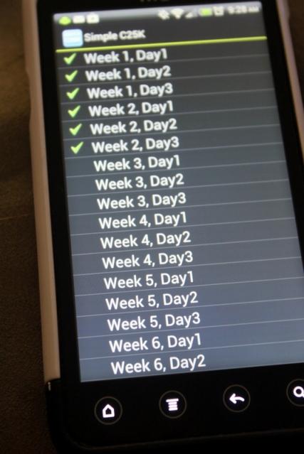 Week 2...check!